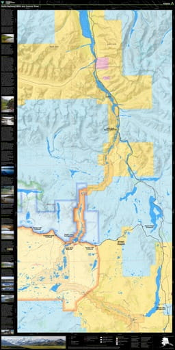 map of Delta - National Wild and Scenic River Wayside