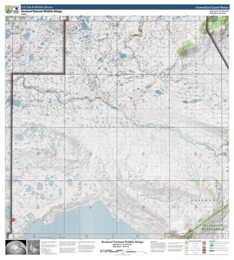 map of Becharof NWR - BCH-02