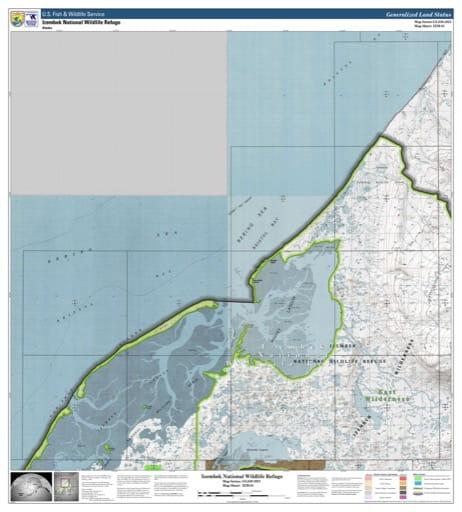 map of Izembek NWR - IZM-01