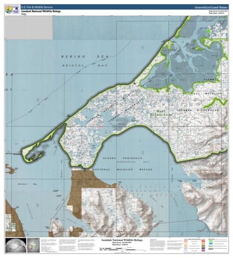 map of Izembek NWR - IZM-03