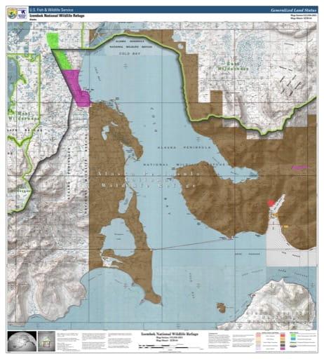 map of Izembek NWR - IZM-04