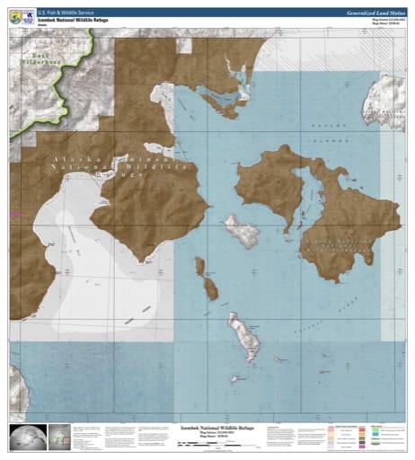 map of Izembek NWR - IZM-05