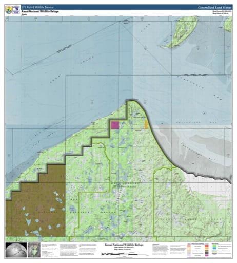 map of Kenai NWR - KNA-02