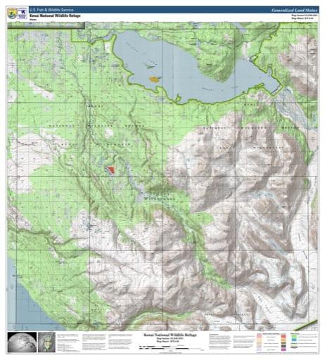 map of Kenai NWR - KNA-08