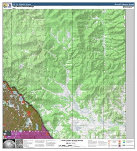 map of Tetlin NWR - TET-03