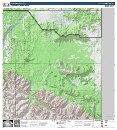map of Tetlin NWR - TET-07