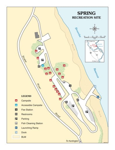 map of Spring - Recreation Map