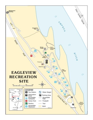 map of Eagleview - Recreation Map