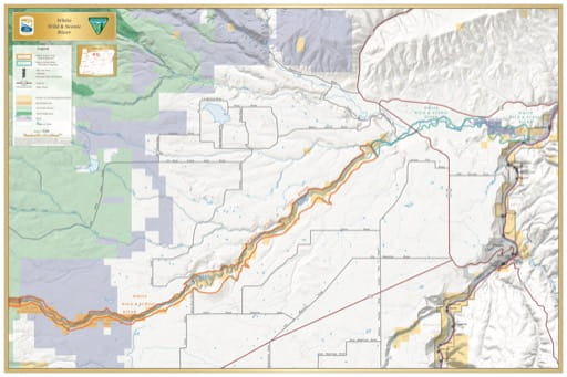 map of White River - Visitor Map