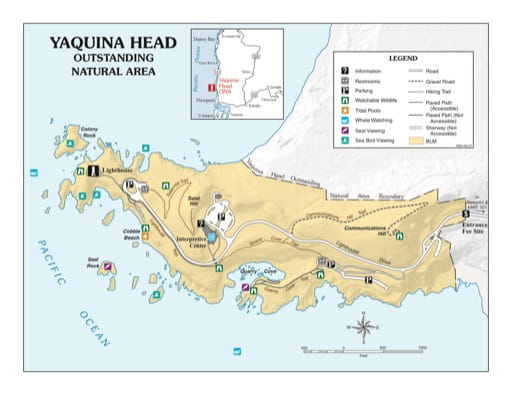 map of undefined - Yaquina Head ONA