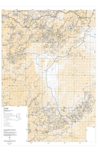 Motor Vehicle Travel Map (MVTM) of Scott River in Klamath National Forest (NF) in California. Published by the U.S. Forest Service (USFS).