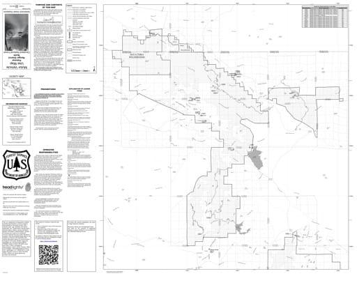 map of Cleveland MVUM - Palomar 2017