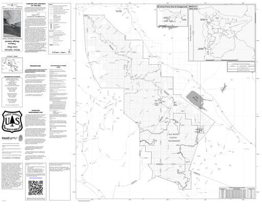 map of Cleveland MVUM - Trabuco 2017
