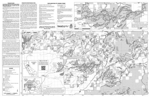 map of Tahoe MVUM - Yuba River South 2013