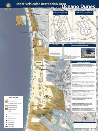 map of undefined - Oceano Dunes
