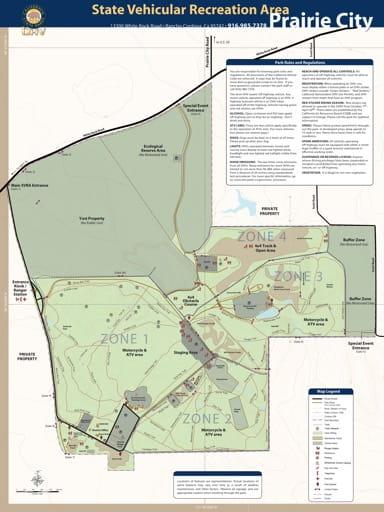 map of Prairie City