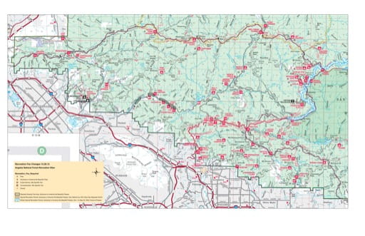map of Angeles - Recreation Map