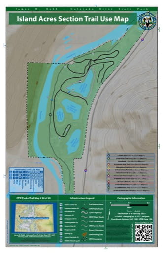 map of James M. Robb - Colorado River - Island Acres Section (#26)