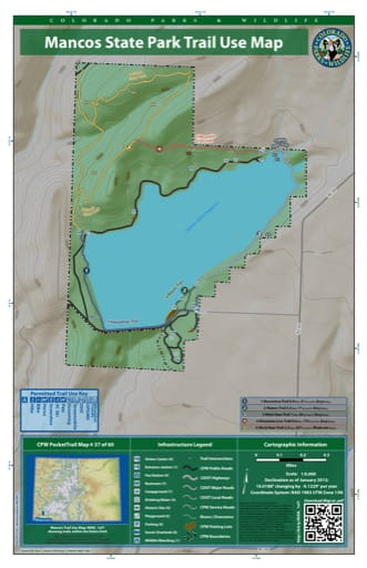 map of Mancos - Trail System (#37)