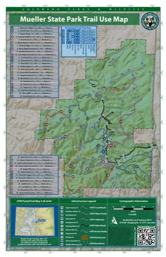 map of Mueller - Trail System (#38)
