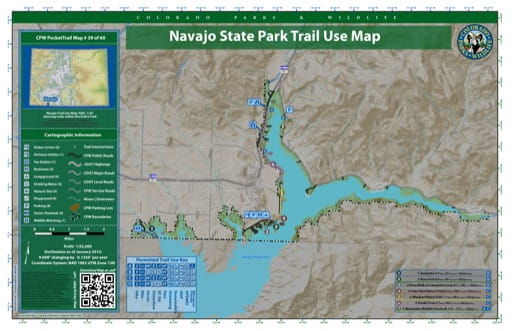 map of Navajo - Trail System (#39)