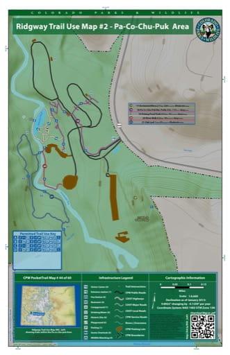map of Ridgway - Pa-Co-Chu-Puk Area (#44)
