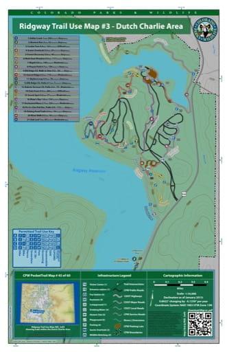 map of Ridgway - Dutch Charlie Area (#45)