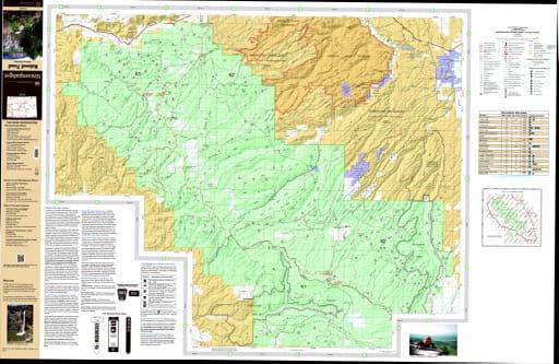 map of Uncompahgre - Plateau North 2016