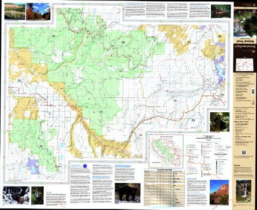 map of Uncompahgre - Plateau South 2016