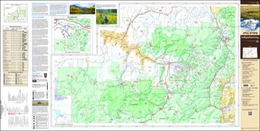 map of Uncompahgre - Mountain West 2017
