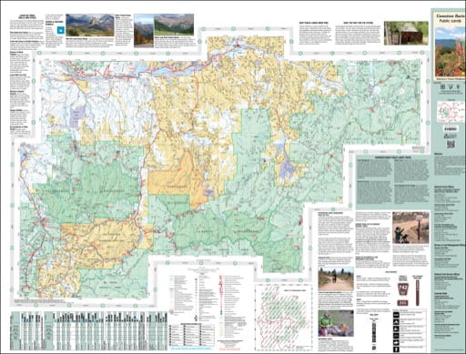 map of Gunnison Basin - South 2014