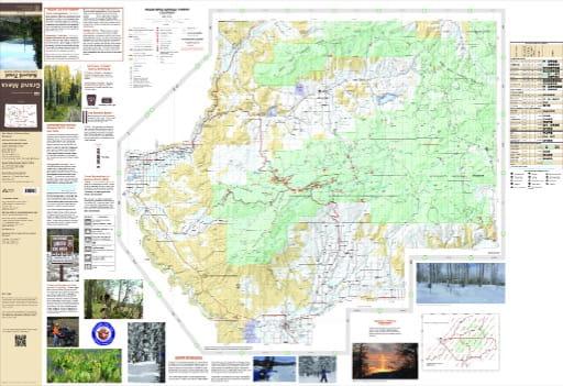 map of Grand Mesa - Grand Valley 2015