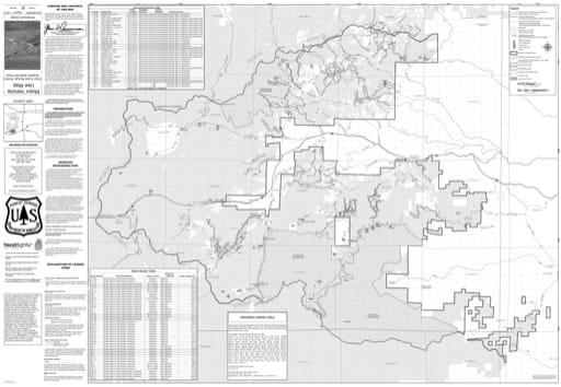 map of Arapaho MVUM - Clear Creek 2013