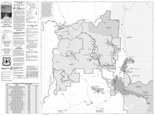 map of Arapaho MVUM - Sulphur North 2011