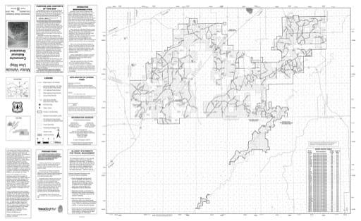 map of Comanche MVUM - Front 2019