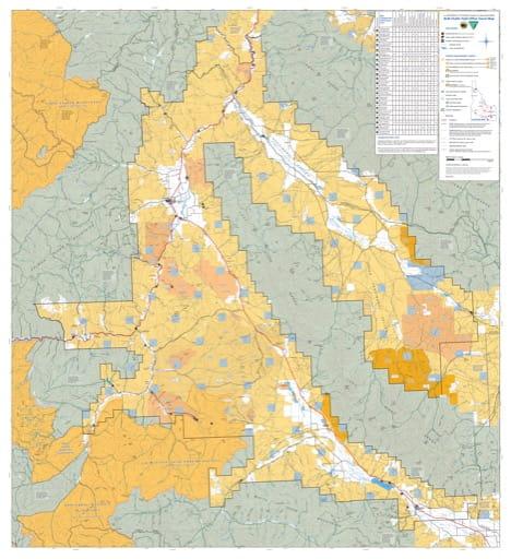 map of Challis - Travel Map