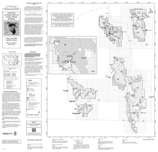 Over Snow Vehicle Use Map (OSVUM) of Westside in Caribou-Targhee National Forest (NF) in Idaho. Published by the U.S. Forest Service (USFS).