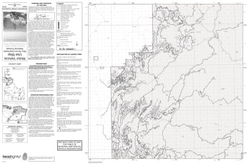 Motor Vehicle Use Map (MVUM) of Pierce-Hemlock Butte in Nez Perce-Clearwater National Forest (NF) in Idaho. Published by the U.S. Forest Service (USFS).