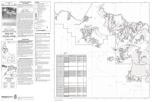 map of Nez Perce-Clearwater MVUM - Upper Palouse 2016