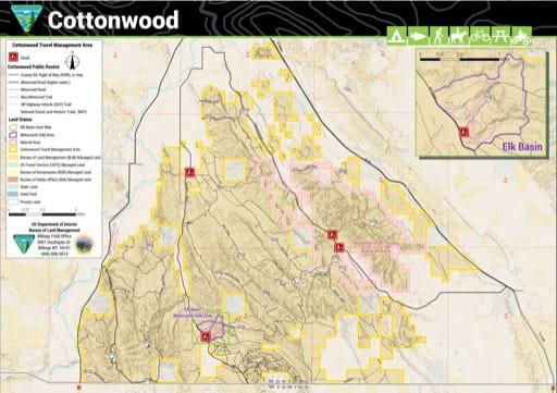 map of Cottonwood