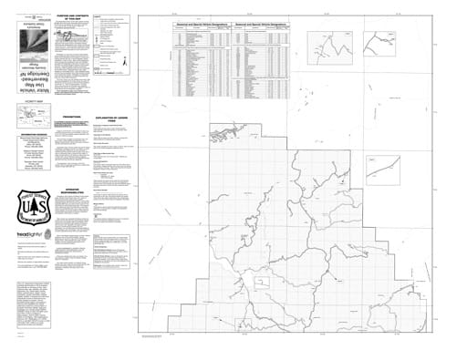Motor Vehicle Use Map (MVUM) of Gravelly Mountain Range North in Beaverhead-Deerlodge National Forest (NF). Published by the U.S. Forest Service (USFS).