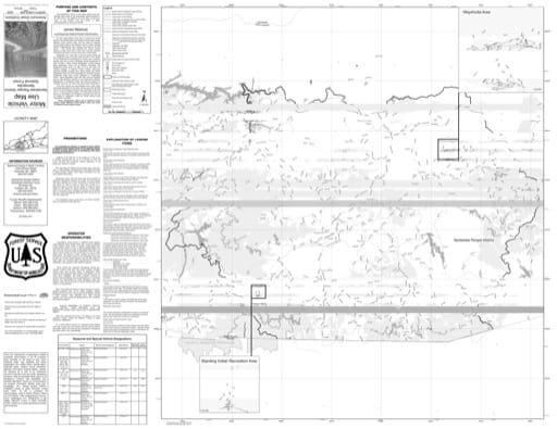 Motor Vehicle Use Map (MVUM) of the Nantahala Ranger District (RD) of Nantahala National Forest (NF) in North Carolina. Published by the U.S. Forest Service (USFS).