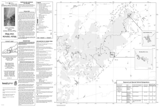 Motor Vehicle Use Map (MVUM) of the Pisgah Ranger District (RD) of Pisgah National Forest (NF) in North Carolina. Published by the U.S. Forest Service (USFS).