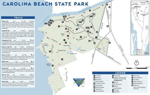 map of Carolina Beach - Map