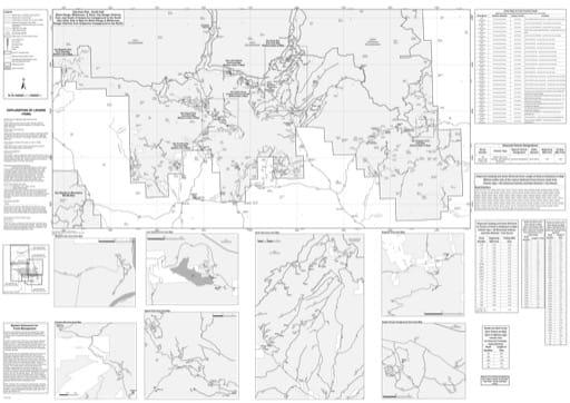 map of Gila MVUM - Silver City - Gila East - South 2016