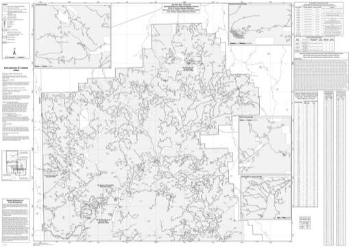 map of Gila MVUM - West - North 2016