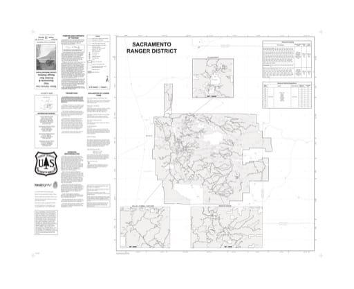 map of Lincoln MVUM - Sacramento 2014