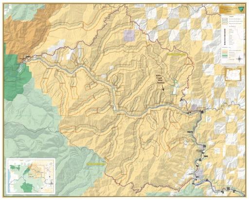 map of Rogue River - Tributaries - Alder Creek