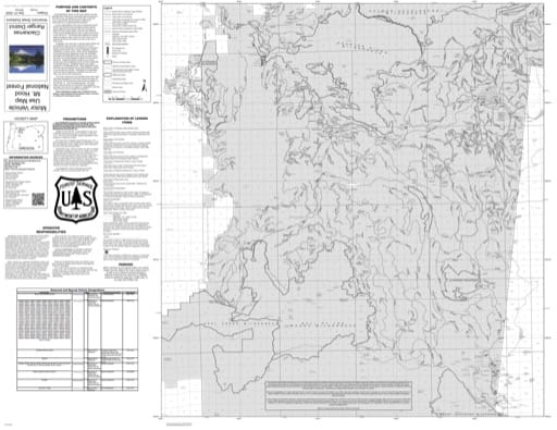 Motor Vehicle Use Map (MVUM) of Clackamas River Ranger District (RD) in Mt. Hood National Forest (NF) in Oregon. Published by the U.S. Forest Service (USFS).