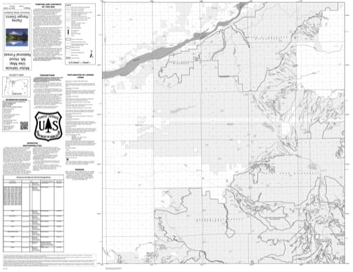 Motor Vehicle Use Map (MVUM) of Zigzag Ranger District (RD) in Mt. Hood National Forest (NF) in Oregon. Published by the U.S. Forest Service (USFS).